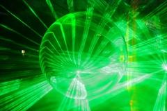 Hintergrund grün Glas Laser