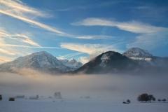 Bergpanorama -Bad Hindelang - Allgäu