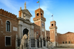 Venedig Arsenal Eingangsportal