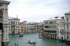 Venedig Canal Grande Winter