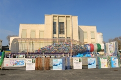 Venedig Filmpalast Umweltaktion