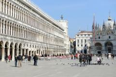 Venedig Markusplatz Basilika