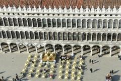 Venedig Markusplatz Cafe Quadri