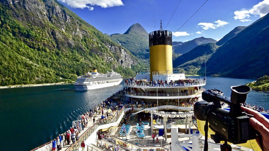 #Norwegen #Geiranger Fjord #Kreuzfahrt